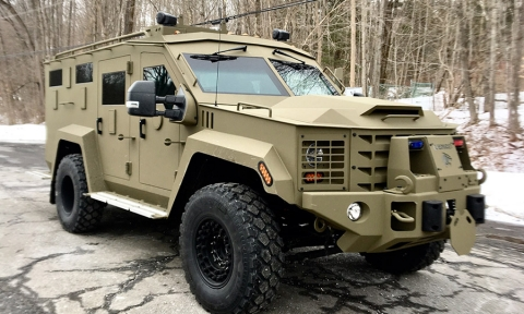 KNIGHTGUARD becomes official Agent for LENCO ARMORED VEHICLES